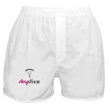 Pink Skydive Boxer Shorts