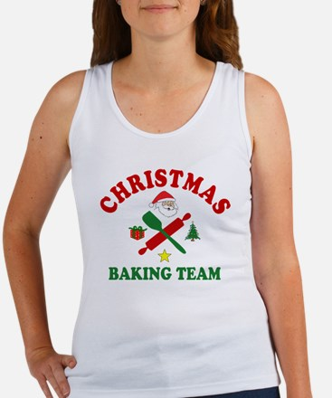 Christmas Baking Team Tank Top