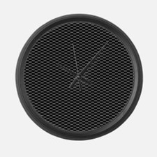 CARBON Large Wall Clock