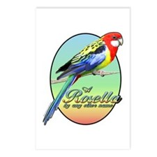 Rosella By Name Postcards (Package of 8)