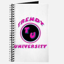 Trendy University Pink Journal