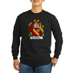 Fontaine Family Crest Long Sleeve Dark T-Shirt