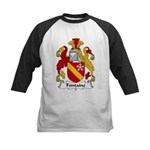Fontaine Family Crest Kids Baseball Jersey