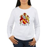 Fontaine Family Crest Women's Long Sleeve T-Shirt