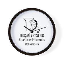 Missouri Bicycle Federation Wall Clock