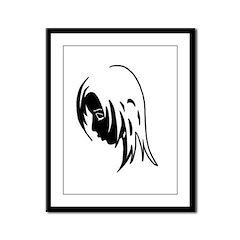 EmoGirl1 Framed Panel Print