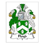 Floyd Family Crest Small Poster
