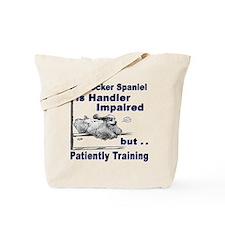 Cocker Spaniel Agility Tote Bag