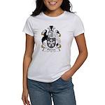 Flower Family Crest Women's T-Shirt