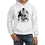 Flower Family Crest Hooded Sweatshirt