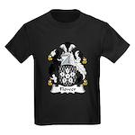 Flower Family Crest Kids Dark T-Shirt