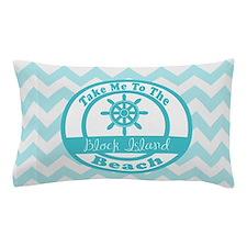 Take Me To the Beach Aqua Pillow Case
