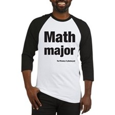 Cute Math majors Baseball Jersey