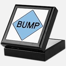 BABY BUMP (BLUE) Keepsake Box