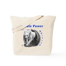 Poodle Power Agility Tote Bag