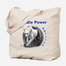 Poodle Power Agility Tote Bag