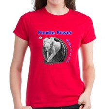 Poodle Power Agility Tee