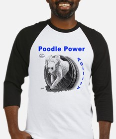Poodle Power Agility Baseball Jersey