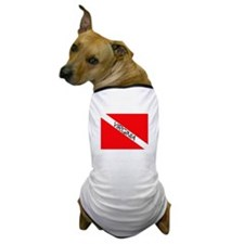 Funny Scuba flag Dog T-Shirt