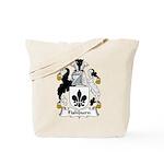 Fishburn Family Crest  Tote Bag
