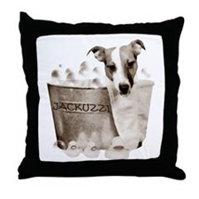 JRT Humor - JACKUZZI Throw Pillow