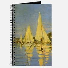 Claude Monet Regatta at Argenteuil Journal