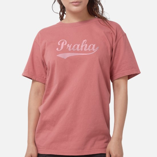 Vintage Praha (Pink) T-Shirt