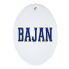 Bajan Oval Ornament