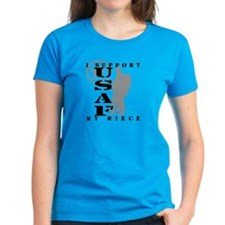 I Support My Niece 2 - USAF  Tee
