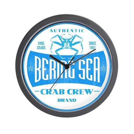 CRAB CREW BRAND Wall Clock