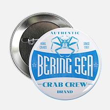 CRAB CREW BRAND Button