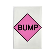 BABY BUMP (PINK) Rectangle Magnet (100 pack)