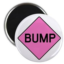 BABY BUMP (PINK) Magnet