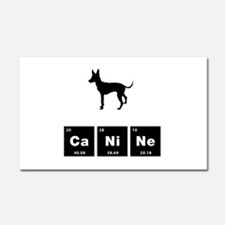 Toy Manchester Terrier Car Magnet 20 x 12