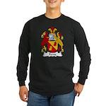 Ferne Family Crest Long Sleeve Dark T-Shirt