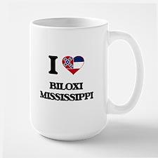 I love Biloxi Mississippi Mugs