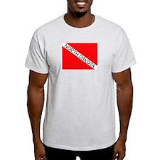 Unique North dakota flag T-Shirt