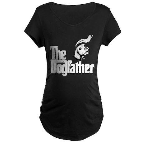 Beagle Maternity Dark T-Shirt