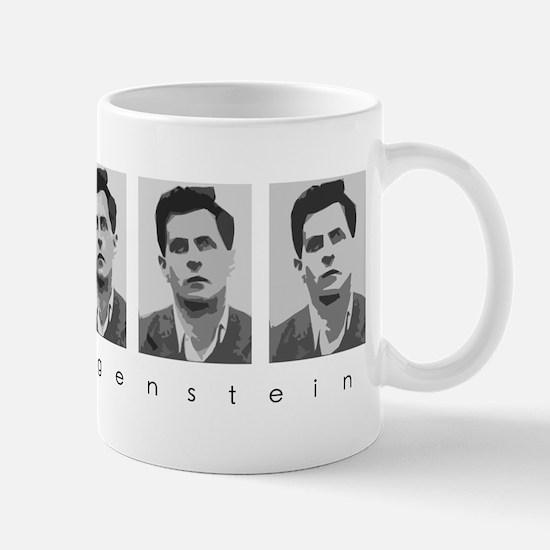 Wittgensteins (in B&W) Mug