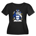 Fenn Family Crest Women's Plus Size Scoop Neck Dar