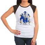 Fender Family Crest Women's Cap Sleeve T-Shirt