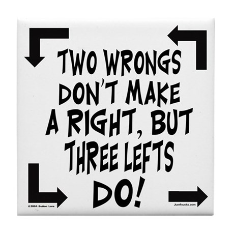 "making wrongs right essay ""two wrongs don't make a right"", is a proverb used to rebuke or renounce  wrongful conduct  ""two wrongs make a right"" in which an allegation of  wrongdoing is countered with a similar allegation  make a right: an essay on  business ethics."