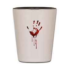 ZOMBIE HAND Shot Glass