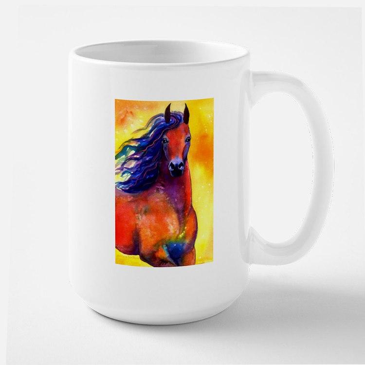 Arabian Horse #1 Large Mug