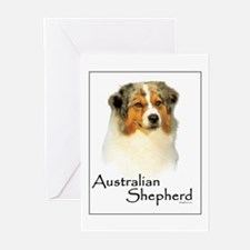 Australian Shepherd-1 Greeting Cards (Pk of 10)