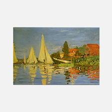 Claude Monet Regatta at Argenteuil Magnets