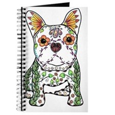 Sugar Skull Frenchie Journal