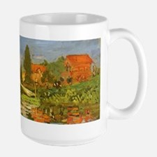 Claude Monet Regatta at Argenteuil Mugs