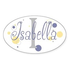 Isabella Sticker (Oval)