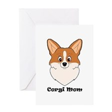 Corgi Mom Greeting Cards